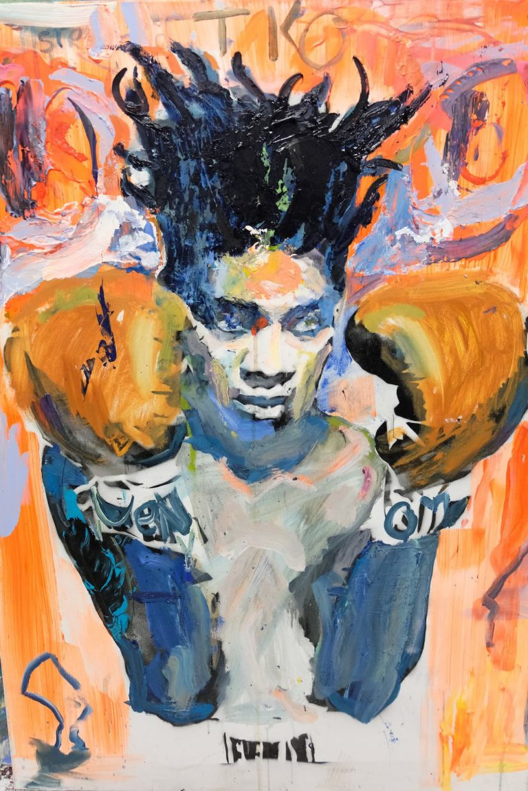Basquiat knocks down The most friendly person in first round